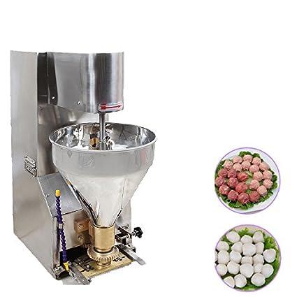 Formando máquina comercial albóndigas carne de vacuno de carne de cerdo pescado bolas Panificadora 220 V