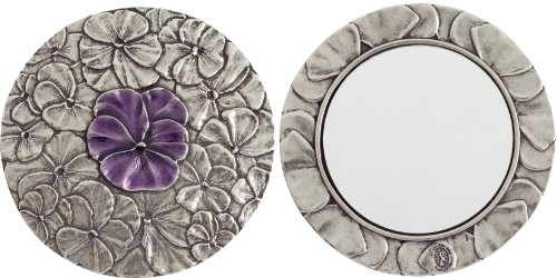 Danforth - Pansy Pewter Purse Mirror (Purple)