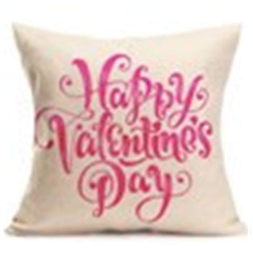 LABIUO - Funda de cojín Home Decor Love con diseño de ...