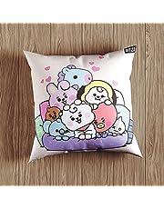 bt21 Pillow Case Pillow Cover Plush 40x40