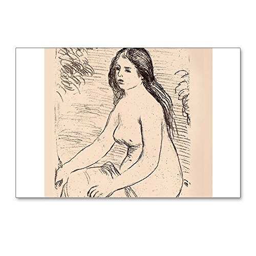 (CafePress - Renoir Femme Nue Assise-Litho Postcards (Package O - Postcards (Package of 8), 6