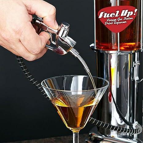 Compra Appetitissime Fuel Up Dispensador de Bebidas, Plateado, 14x14x48 cm en Amazon.es