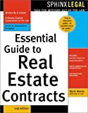 img - for Essential Guide to Real Estate Contracts (Complete Book of Real Estate Contracts) by Mark Warda (2003-07-01) book / textbook / text book
