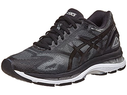 mbus 19 Running Shoe, Black/Onyx/Silver, 10 M US (Black Silver Shoes)