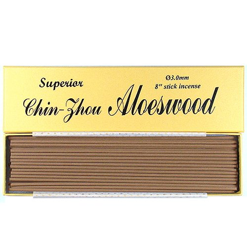 """Price comparison product image Superior Chin-Zhou Aloeswood_8"""" Stick Incense (3.0mm in diameter)_100% Natural_F058TS3"""
