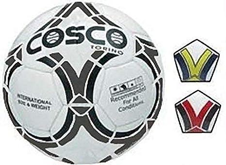 Cosco Torino Football, 5  White/Black/Blue/Yellow
