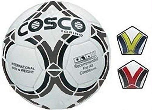 Cosco Torino Football, 5  White/Black/Blue/Yellow