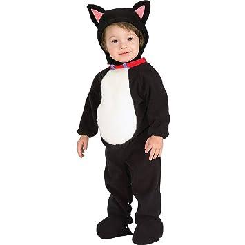 Disfraz de gato para niño gatito, Talla bebé 6-12 meses (Rubies 81211-I)