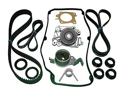 Amazon Com Timing Belt Kit Mitsubishi Mirage 1 8l 1997 1998 1999
