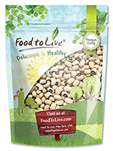 Food to Live Black-Eyed Beans (5 Pounds)