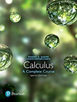 Calculus: A Complete Course, 9th Edition Front Cover