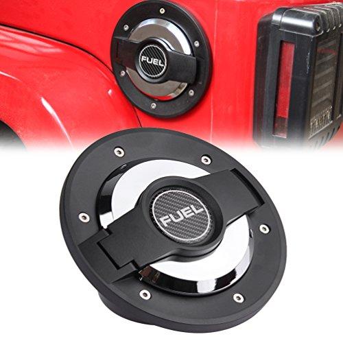 Jeep Fuel Door Cover - 8