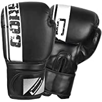 MMA UFC Leather Boxing Gloves Sparring Kick Thai Gym Punching Bag Half Mitts ZH