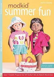 "MODKID® Summer Fun: Sew 7 Stylish Projects for 18"" Dolls  •  Mix & Match Wardrobe"