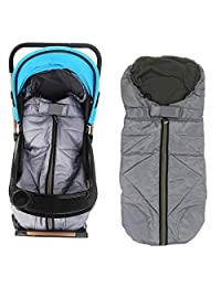 KINGWOLFOX Cold-Proof Baby Stroller Sleeping Bag Winter Cover Mat Stroller Blanket