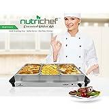 NutriChef 3 Buffet Warmer Server  Professional