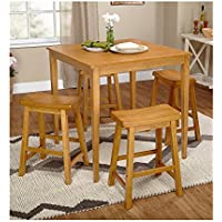 TMS, Inc. Belfast Saddle 5-pc. Dining Set