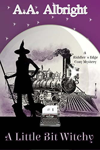 (A Little Bit Witchy (A Riddler's Edge Cozy Mystery)