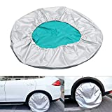 27'-29' Sun Shade Car Spare Tyre Cover Tire Protector Car-styling Adjustable Dust-proof Waterproof