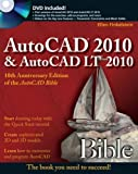 img - for AutoCAD 2010 and AutoCAD LT 2010 Bible book / textbook / text book