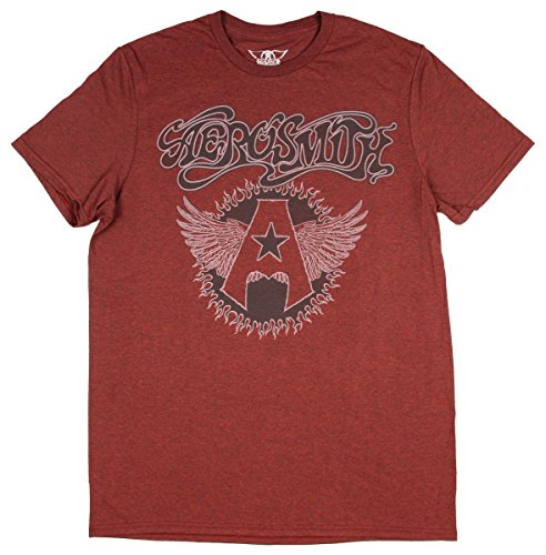 Aerosmith Shirt Men's Music Band Burn Graphic Logo Adult Cla