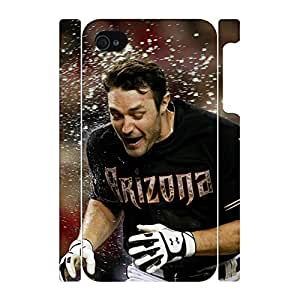 Luxurious Designed Smart Player Pattern Sportsman Dust Proof Hard Plastic Case Cover for Iphone 4 4s