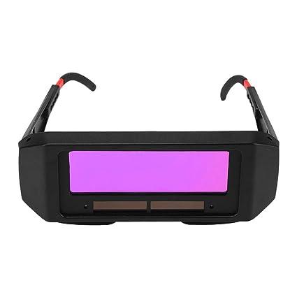 Gafas de soldadura de oscurecimiento automático solar, gafas de soldadura TIG MIG MMA de seguridad