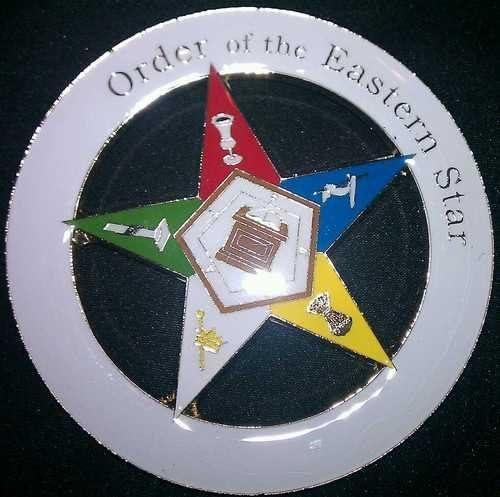 Order of Eastern Star OES Badge