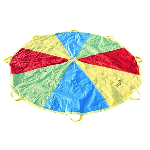 AjaxStore - 20x4x15CM Child Kid Sports Development Outdoor Umbrella Parachute Toy Jump-sack Ballute Play Parachute by AjaxStore (Image #2)