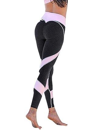 Women Athletic Stretch Gym Yoga Activewear Running Pants Trousers Leggings VS