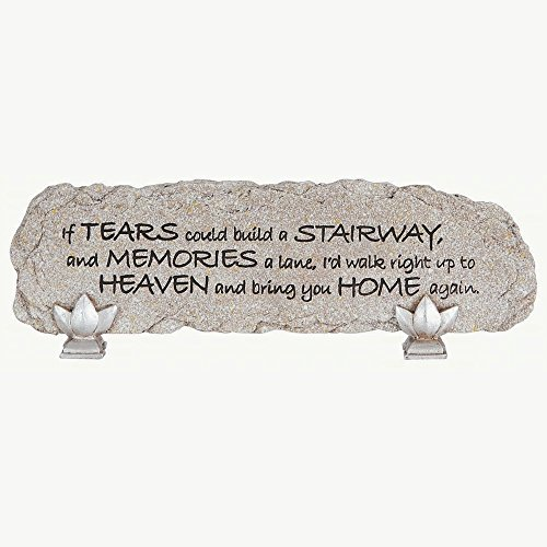 Carson Home Accents 13226 Tears Heart Notes Stone Bar For Sale