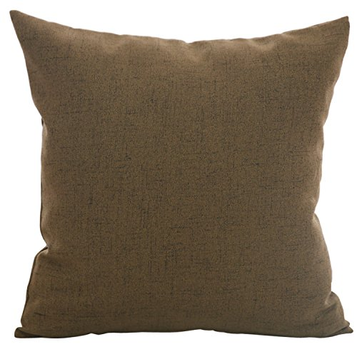 Throw Pillow Invisible Zipper : Deconovo Faux Linen Throw Pillow Covers Pillow Case Cushion Cover With Invisible Zipper for ...