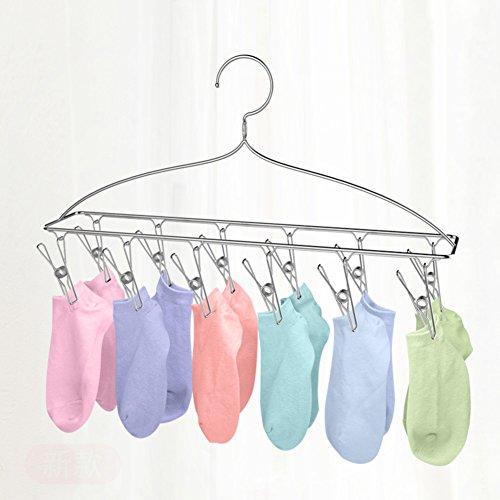 Stainless steel drying rack,Multi-function clip hanger hange