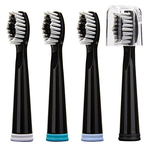 Sonic Toothbrush Head,Replacement Head x 4 for KIPOZI Electric Toothbrush (for Models of KI-508)