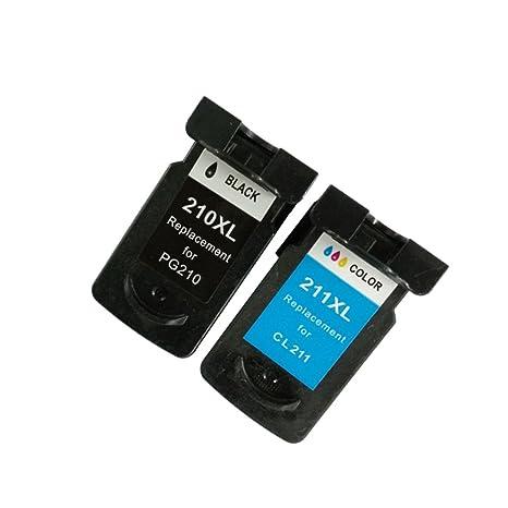 Amazon.com: Canon PG-210 X L/CL-211 X L cartucho de tinta ...