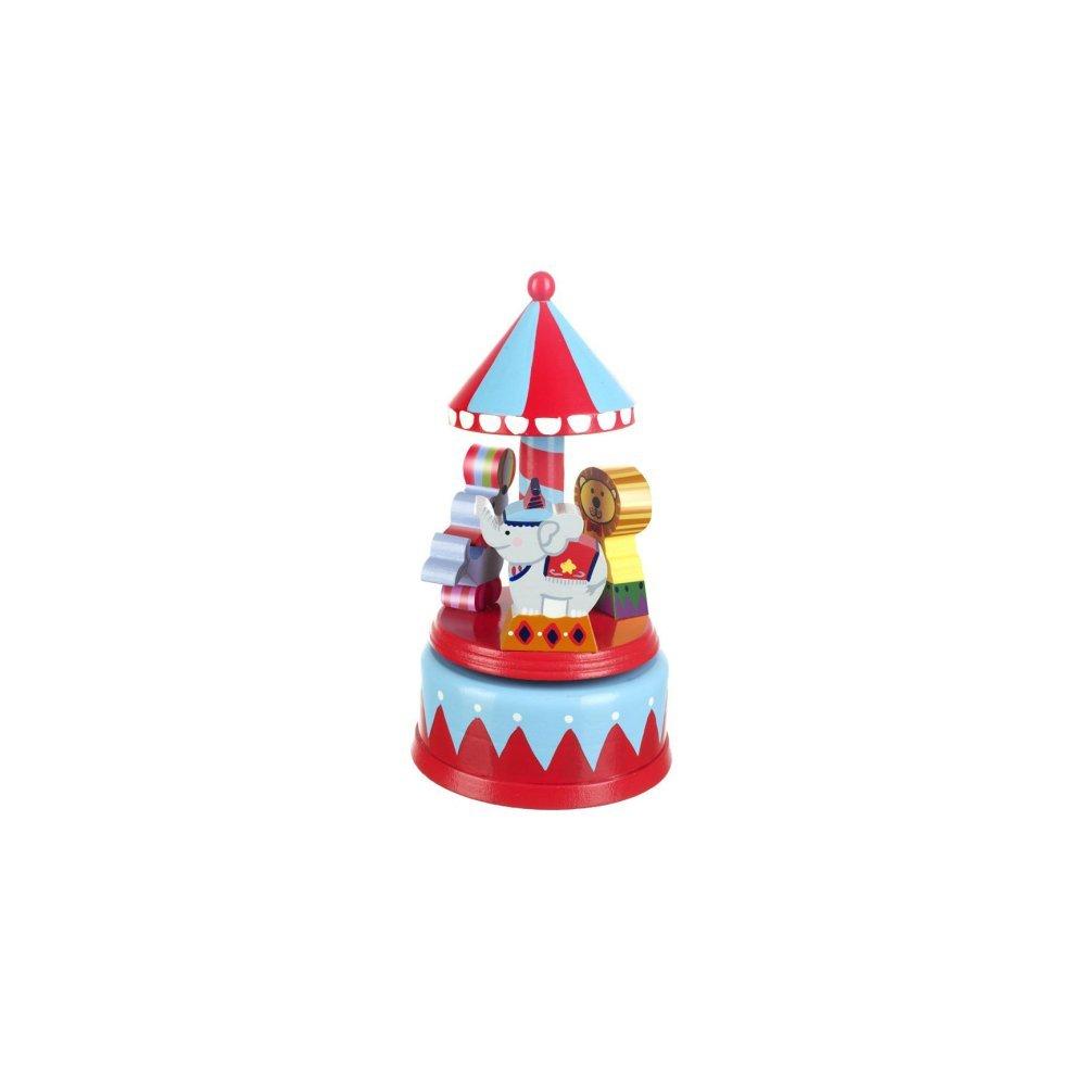 Orange Tree Toys Vintage Circus Musical Carousel RY91A1994