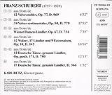 Schubert: Op. Nos. 77, 50, 67, 18 & 171/17 Deutsche Tänze, Ganannt Ländler, D.366