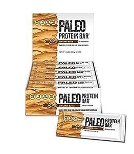 Paleo Thin® Protein Bar (Organic Sunflower Butter) (150 Cal, 20g Egg White Protein 5 Net Carbs) (12 Bars)