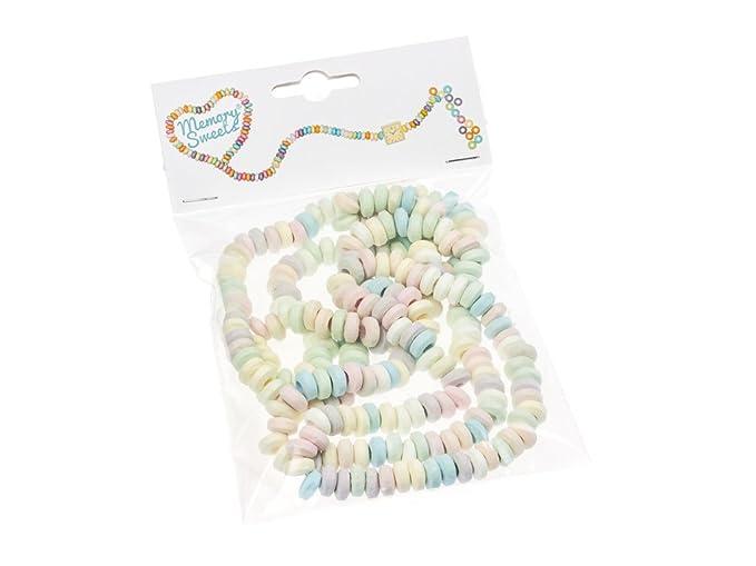 MemorySweets - Bolsa retro con collares de caramelos: Amazon ...