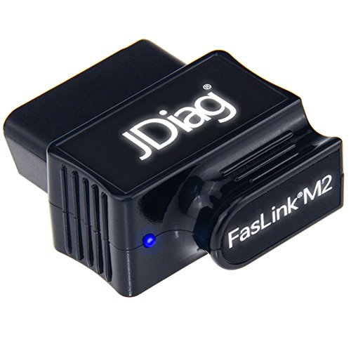 JDiag Bluetooth Car Scanner OBD2 Diagnostic Scanner Check Engine Light Code Reader for iPhone, iOS & Android