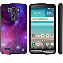 LG G3 Case, Spots8® Hard Plastic Slim Fit [Milkway Galaxy] Case Covers Compatible with LG G3 (Verizon/AT&T/Sprint/T-Mobile/US Celluar)
