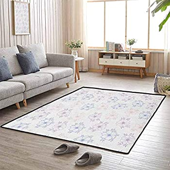 Image of Chair Mat Bridal Corsage Design Garden Bedding Plants in Soft Colors 6'x9' Outdoor Carpets Patio Home and Kitchen