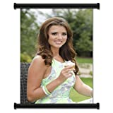 Lucy Mecklenburgh Sexy Fabric Wall Scroll Poster (16' X 26') Inches