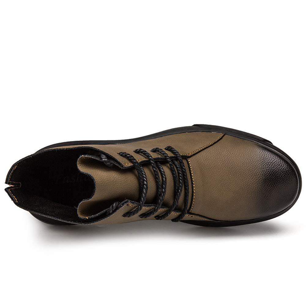 Jiuyue-scarpe, Stivaletti Eleganti e Confortevoli Confortevoli Confortevoli per Uomo in Pile Sintetico Interno Suola per Il Tempo Libero Scarpe Stivaletti Casual (Opzionale Convenzionale) Scarpe Stivali da Uomo Stivali 2018 157d43