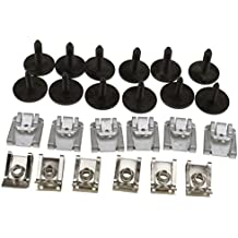 24 x Sets Under Engine Cover Undertray Fitting Clip Kit Screw For MERCEDE W211