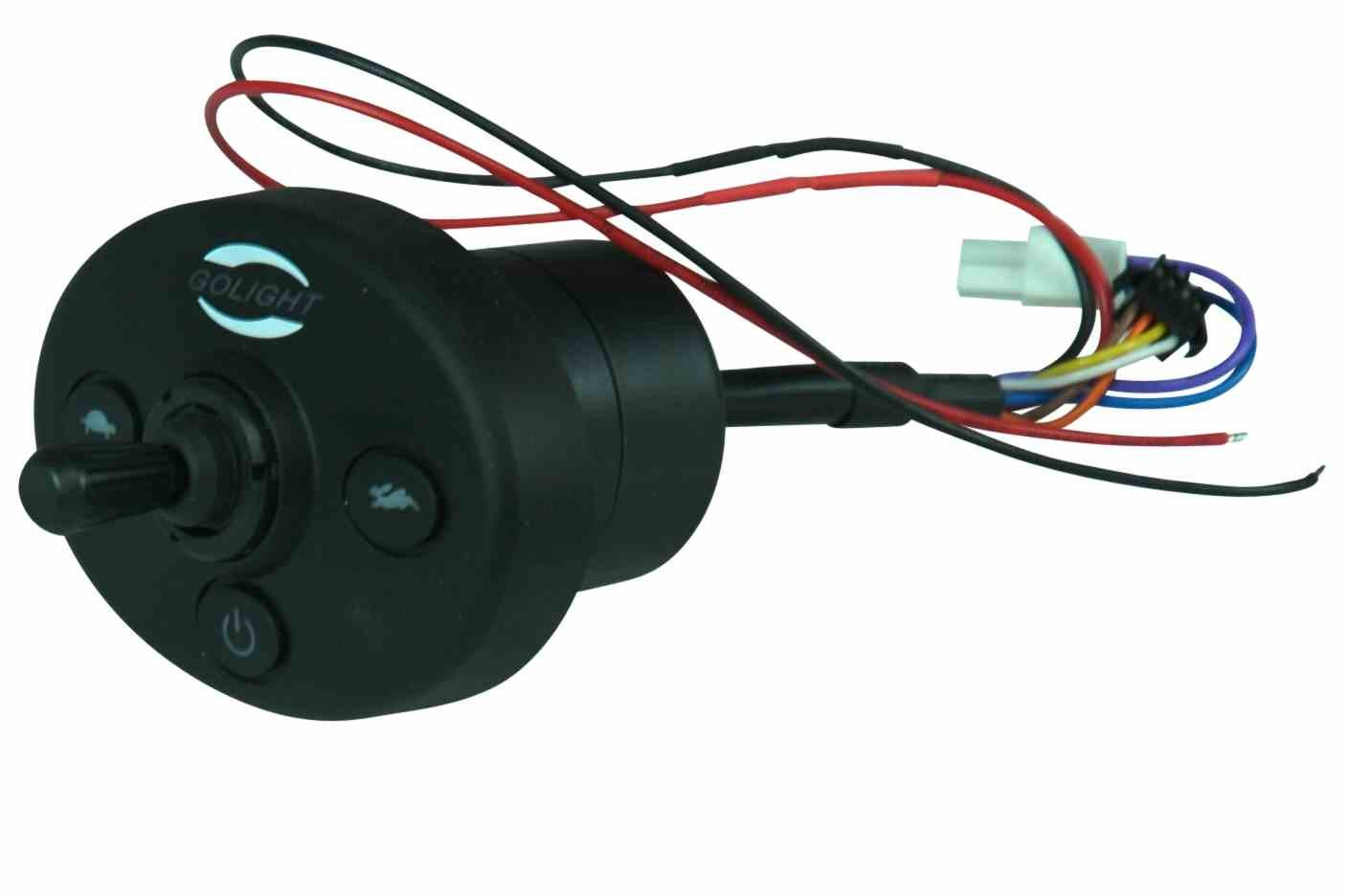 Replacement Dash Mount Controller for Golight 3020, 3021 and 3026 remote control spotlights