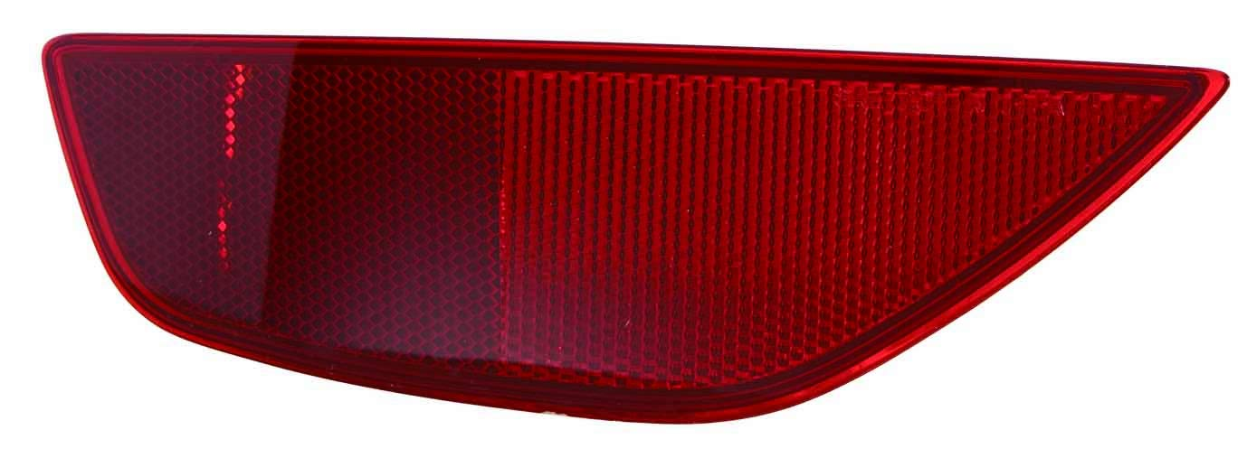 For 2011 2012 2013 2014 2015 2016 2017 Ford Fiesta Hatch Back//St Reflector Light Lamp Passenger Right Side Replacement FO1185107