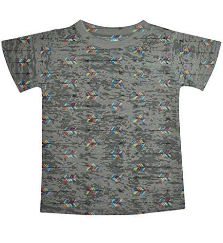 Stella Blu Clothing Little Boys Arrows T Shirt 6 Grey