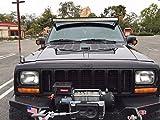 RodLouvers Pair of Jeep XJ Cherokee Hood Aluminum