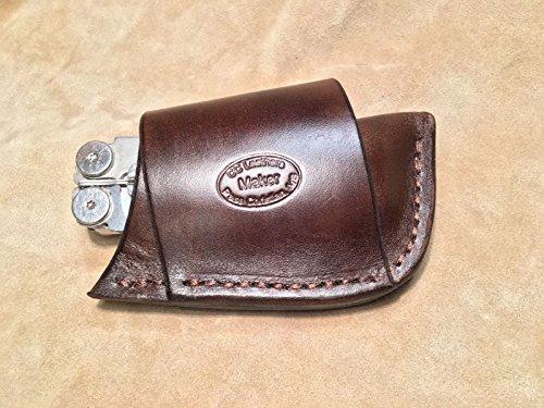 Custom Leather Sheath for LEATHERMAN Sidekick, Wingman, Wave